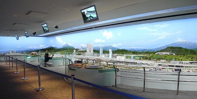 鉄道ジオラマ 全景