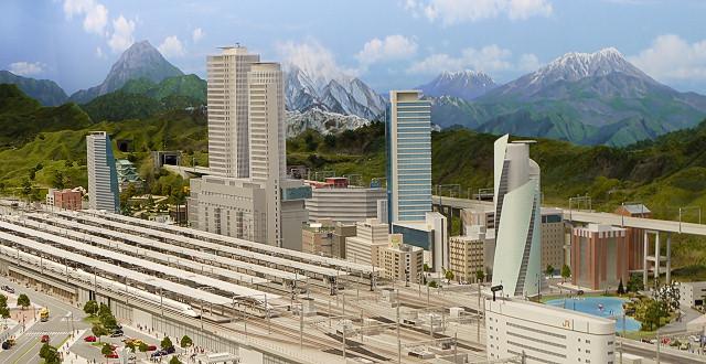 鉄道ジオラマ 名古屋