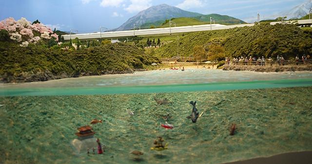 鉄道ジオラマ 浦島太郎
