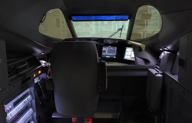 N700系新幹線シミュレータ 2